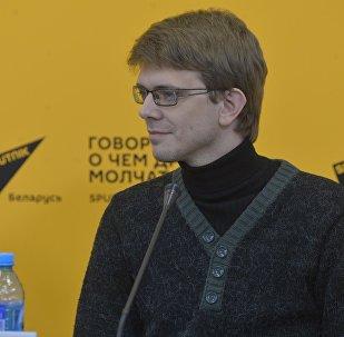 Координатор национального конкурса Минского МКФ Лiстапад Николай Лавренюк