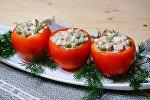 Фаршированные помидоры – вариации на тему Оливье