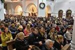 Минчане отмечают католическое Рождество