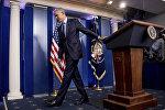 Президент Барак Обама в Белом доме