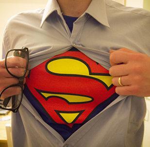 Майка супермена