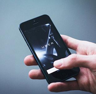 Сэрвіс Uber у смартфоне