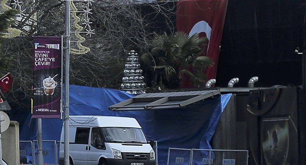 Ночной клуб в Стамбуле, где произошел теракт