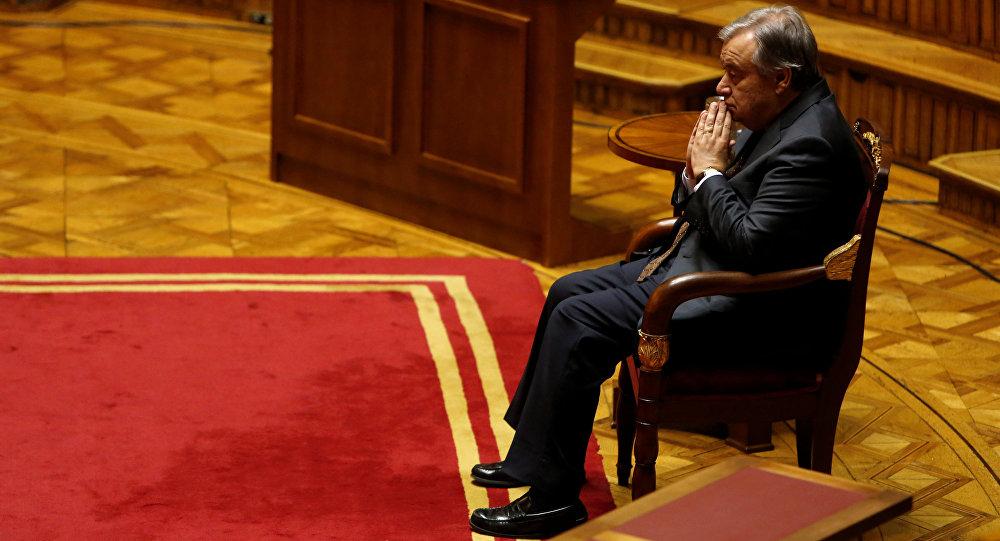 Новый генеральный секретарь ООН готов квстрече сТрампом для обсуждения перемен