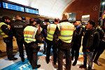 Немецкие полицейские в Кельне