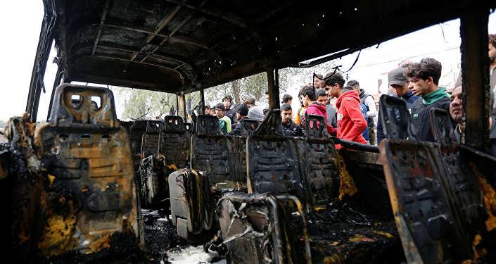 Последствия теракта в Багдаде