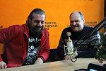 Александр Кривошеев и Вячеслав Шарапов