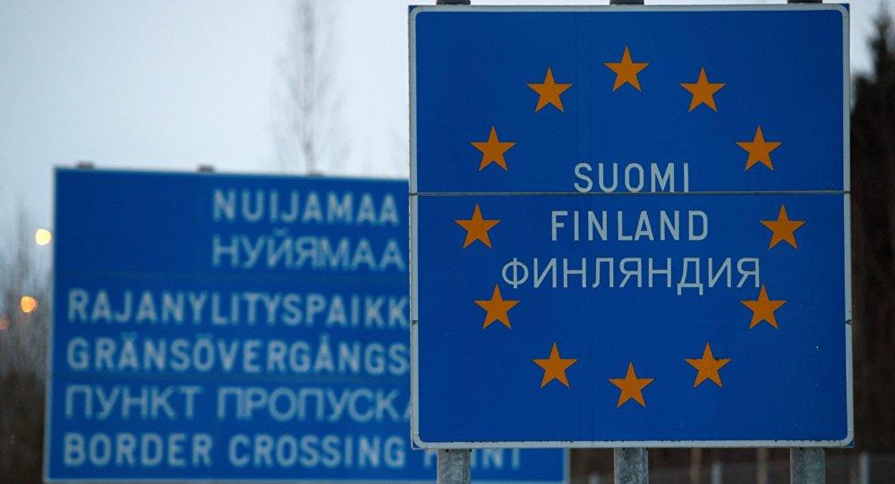 Российско-финская граница в Ленинградской области