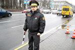 Инспектор отдела по агитации и пропаганде Минской Госавтоинспекции Руслан Тагиров