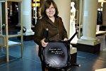 Алексиевич оставила автограф на стуле в Нобелевском музее в Стокгольме