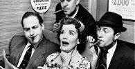 Американские актеры читают The New York Times, 1950-е годы