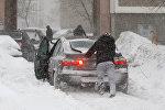 Европейский циклон добрался до Минска