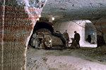 В забое шахты по добыче калийной соли, ПО Беларуськалий