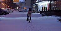 Снегопад в Минске