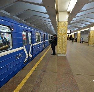 Минский метрополитен, станция Якуба Коласа, архивное фото