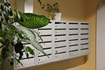 Почтовые ящики в подъезде многоквартирного дома в Минске