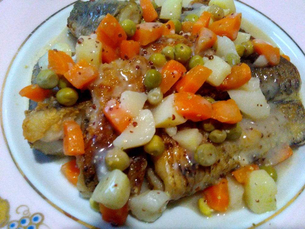 Рыба з агароднінай