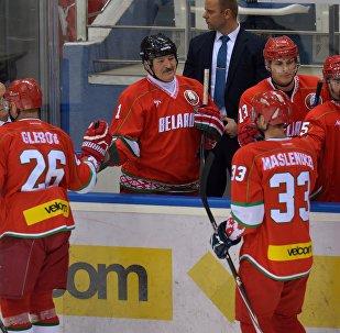 Команда президента Беларуси на Рождественском турнире