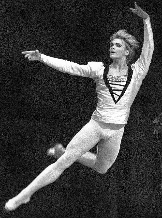 Андрис Лиепа - сцена из балета Лебединое озеро Чайковского