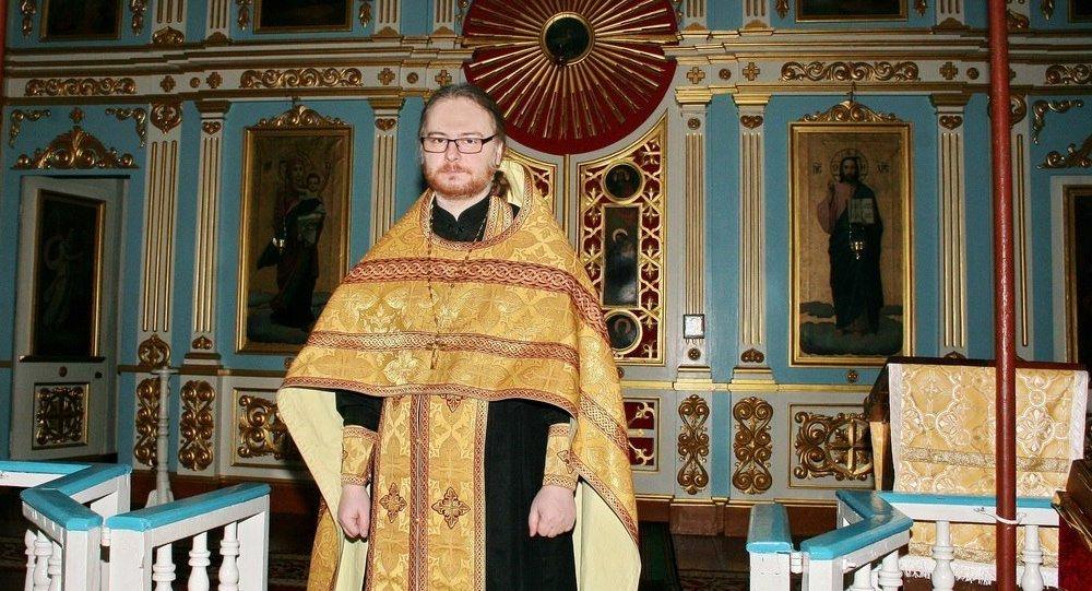 Председатель Синодального информационного отдела Белорусской Православной Церкви протоиерей Сергий Лепин