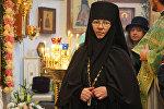 Настоятельница Cвято-Ксениевского монастыря матушка Василиcса