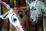 Маскі калядных коз