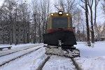 Как работает снегоуборочный трамвай – репортаж из кабины водителя