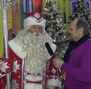 Главный Дед Мороз Беларуси поздравил с Рождеством