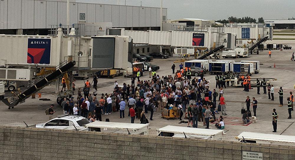 Ваэропорту Флориды произошла стрельба