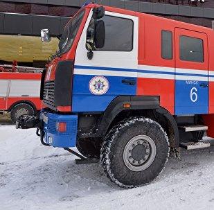 Учения МЧС в Минске