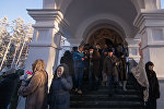 Сотни людей со всей Беларуси приехали проститься с убитой настоятельницей Cвято-Ксениевского монастыря матушкой Василиcсой