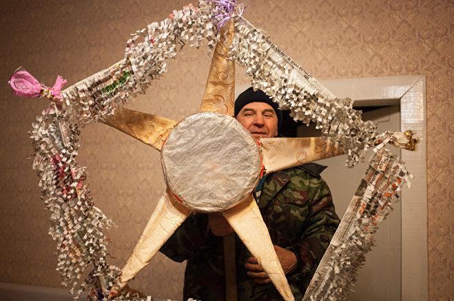 Иван Ильючик делает звезды с детства