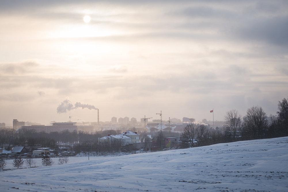 Минский пейзаж зимой