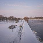 Свислочь зимой