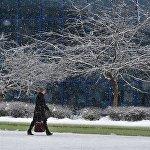 Снег в Минске