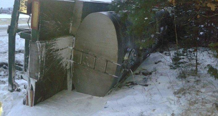 Смертельное ДТП вМинском районе: Ситроен врезался вмикроавтобус