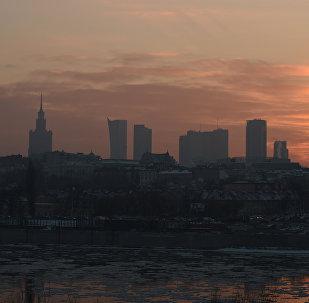 Смог над Варшавай