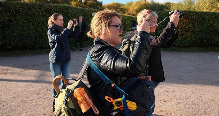 Туристы, архивное фото