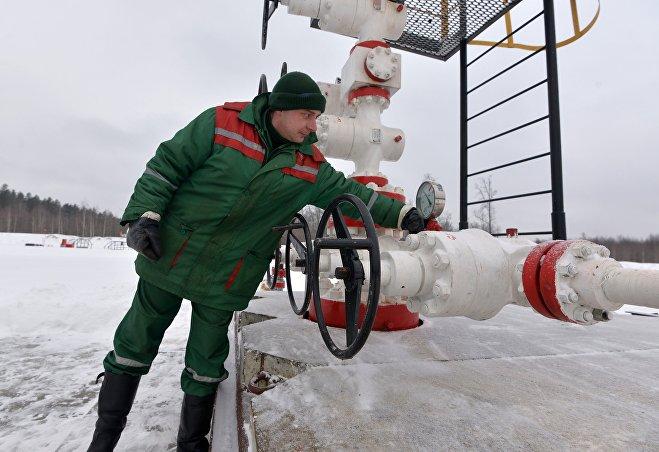 Мастер новой нефтяной скважины Руслан Москаленко