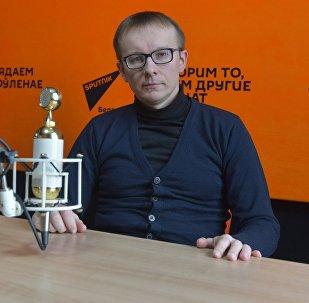 Загадчык кафедры фінансаў МІПСА Вячаслаў Ярашаў
