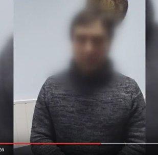 Задержанный уроженец Чечни, подозреваемый в совершении двойного убийства