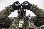 Польский военный, архивное фото
