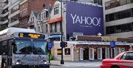 Билборд Yahoo! в Вашингтоне