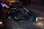 Фото с места аварии в Минском районе