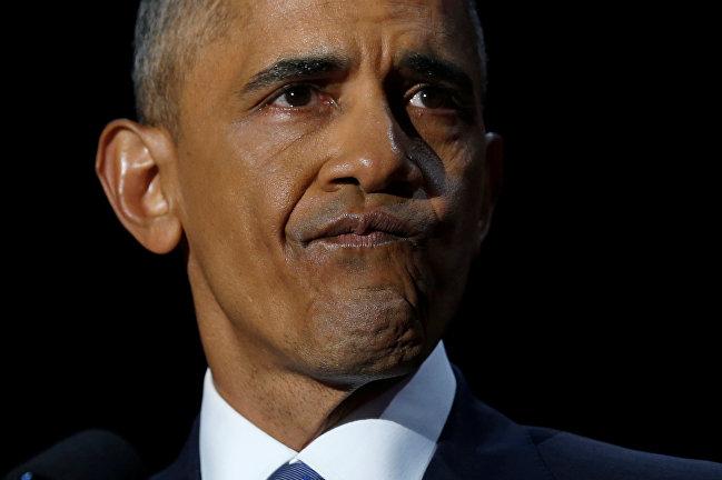 Барак Обама не сдержал слез в прощальной речи