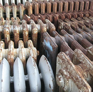 Радиаторы отопления, архивное фото