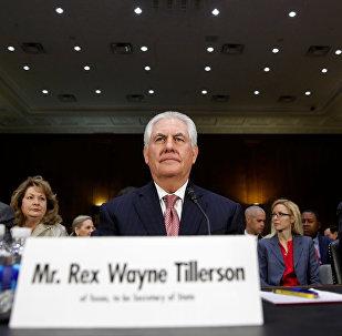 Кандидат на пост госсекретаря США Рекс Тиллерсон