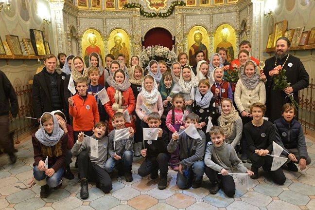 Детско-юношеский хор Всехсвятского прихода