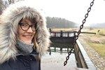 Гостья из Латвии на Августовском канале