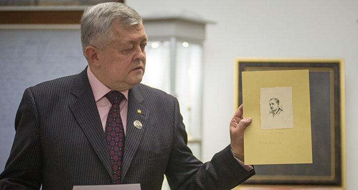 Старшыня Федэральнай нацыянальна-культурнай аўтаноміі Беларусы Расіі Сяргей Кандыбовіч